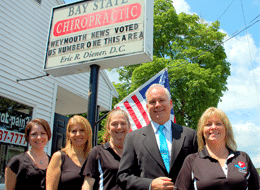 Chiropractor Weymouth MA Eric Diener and staff