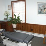 Chiropractic Weymouth MA Office adjusting room