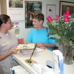 Chiropractic Weymouth MA Office talking to patient