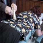 Chiropractic Weymouth MA Office patient adjustment